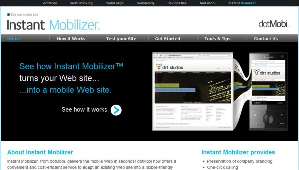 Great Tools to Create Mobile Version of a Website