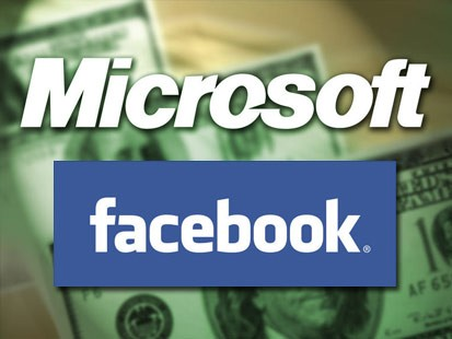 Microsoft and Facebook join force against Google