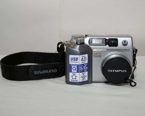 How to Operate the Olympus C-4000 Zoom