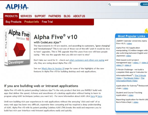 A Review of Alpha Five v10 Developer