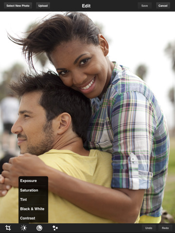 Adobe's Photoshop Express-ipad