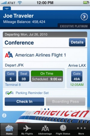 There Is Only One Thing I Don't Like About the American Airlines App