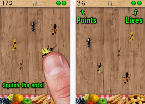 The Game of Ant Smasher on iPad and iPhone
