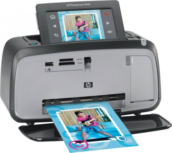 Photo smart A646 of HP: Highly Expensive cost per page