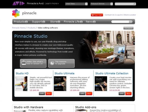 Making Movies with Pinnacle Studio 14 Ultimate