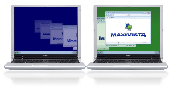 MaxiVista Multi-Monitor Software