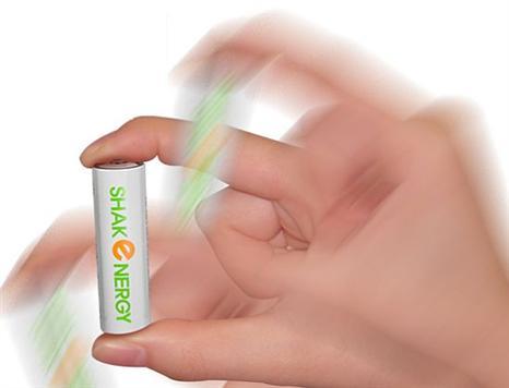 Mint Battery with Shakenergy