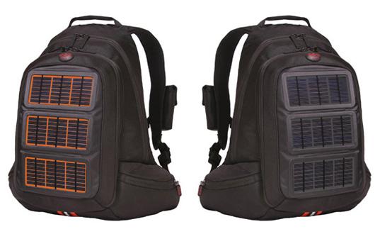 Solar powered Voltaic bags