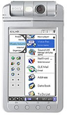 Reviewing the Sony Clie PEG-NX80V