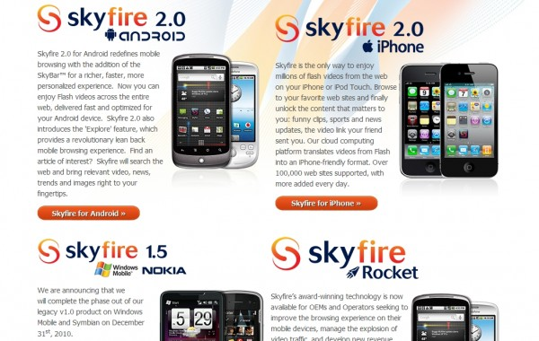 The Best Mobile Browsing with Skyfire 1.5