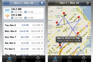 Monitoring and Geotagging Your iPhone Data Usage With DataMan