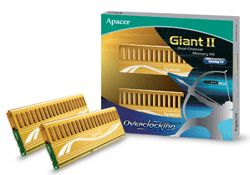 Apacer Giant II Dual Channel Memory Kit