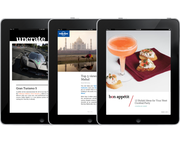 Apple iPad Flipboard Application