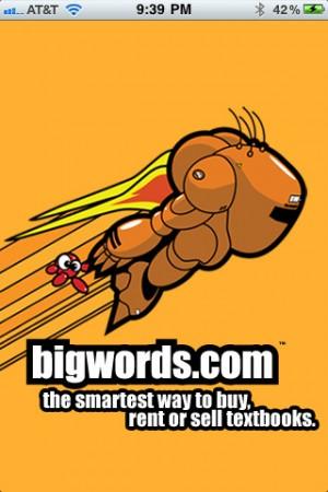 BIGWORDS.com App Lets You Save Money On BookS