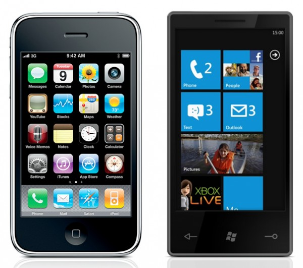 Comparing the Windows Phone 7 and the iPhone
