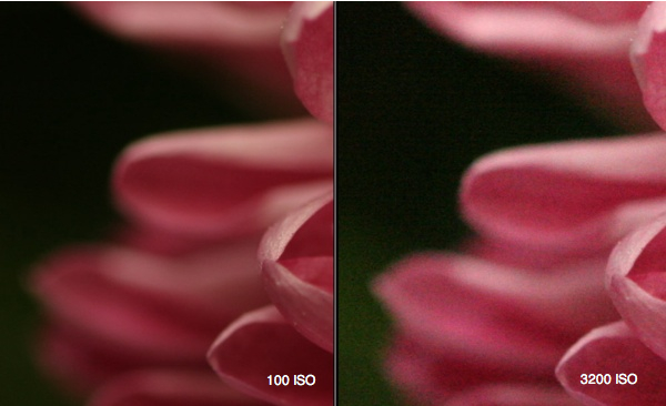 Decrease ISO Setting for More Digital Memory