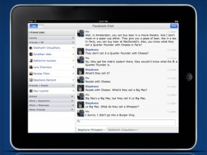 Friendly- The New Facebook For iPad