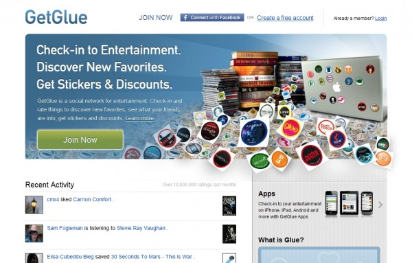 GetGlue: Social Networking and Media Addicts