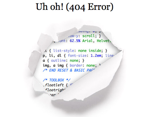 How to Make an Attractive and Useful 404 Error Page?