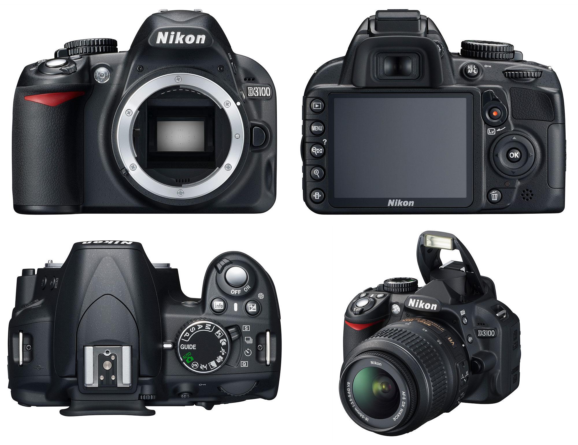 Harga Terbaru dan Spesifikasi Nikon D3100