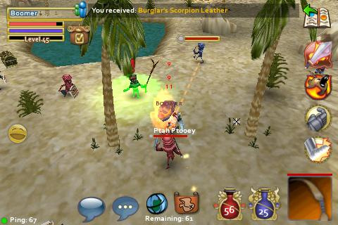 Pocket Legends- The Game that Conquers Evil