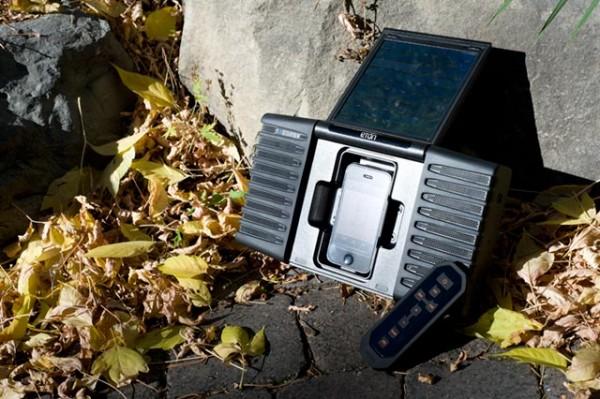 Portable Speaker System for iPhone from Eton