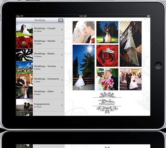 Portfolio application for ipad