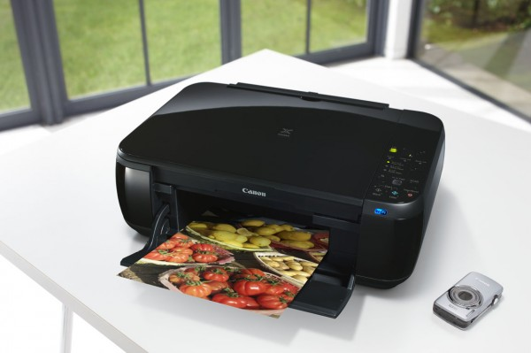 Printer with Wireless Connection: Canon MP 495 Pixma