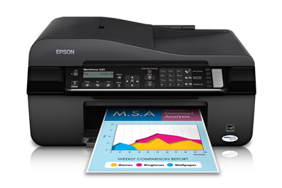 Work Force 520 of Epson for Printing Lot of documents