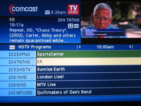 comcast internet TV