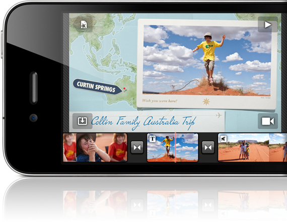 iMovie App for iPhone