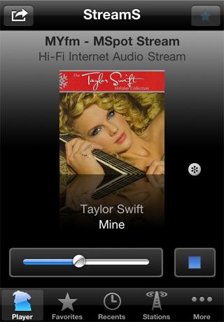 internet radio app for iPhone