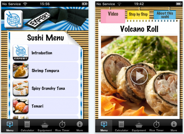 A Consumer Review of Teach Me Sushi Expert App for iPhone