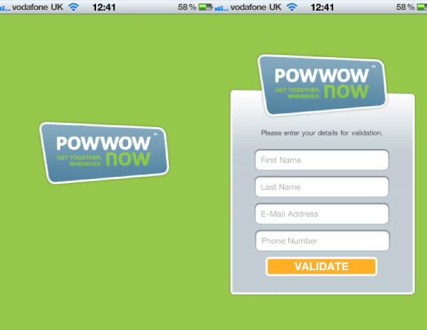 A Review of Powwownow for the iPhone
