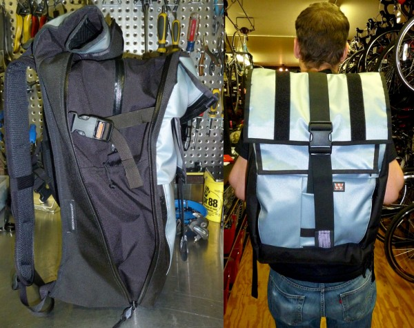 A backpack from Vandal for fitting anything