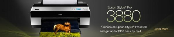 Epson Pro 3880 Stylus Printer