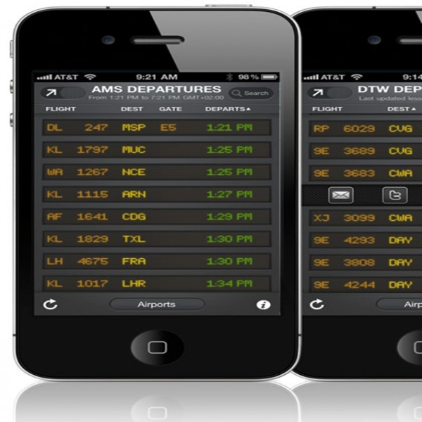 Getting Your Flight Arrivals and Departures With Flightboard