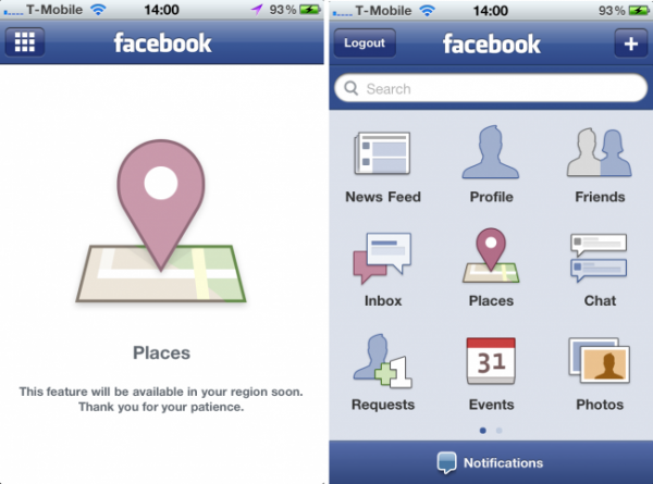 Places & More Now Updated On the Facebook App