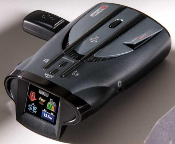 Slowing down your speed with an advanced radar detector