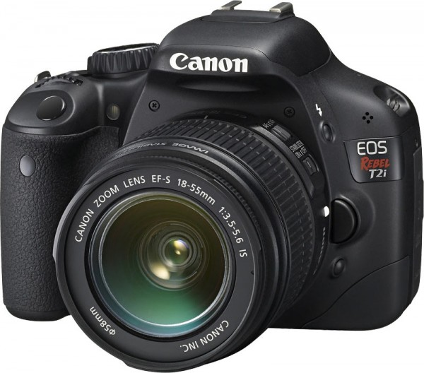 T2i DSLR Camera from Canon