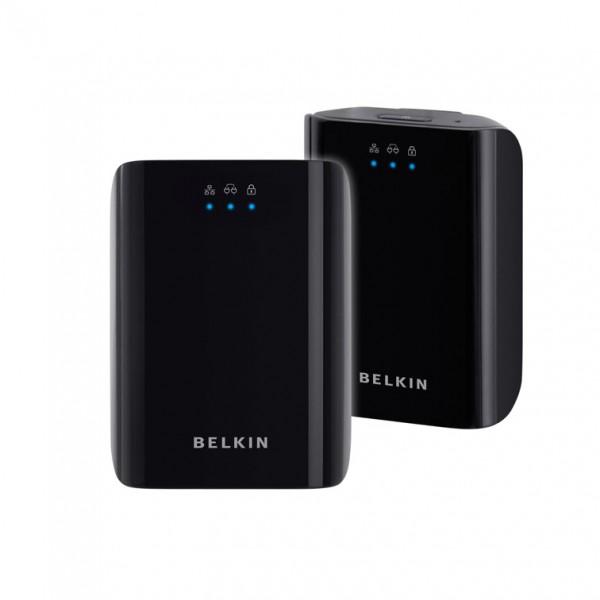 The Belkin Powerline AV Starter Kit