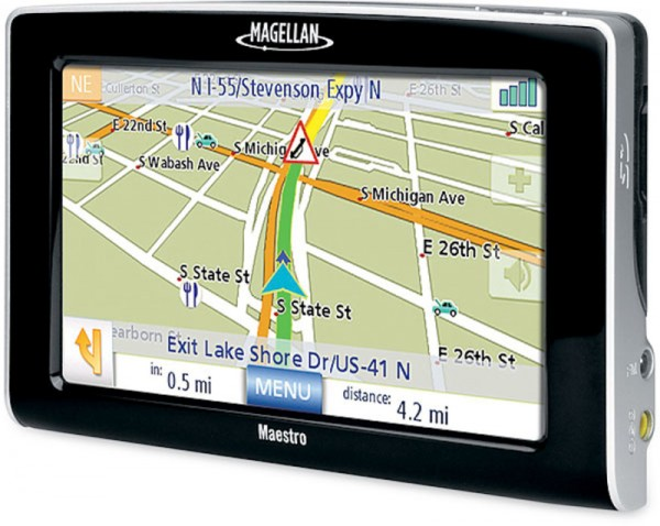 The First Large Screen on The Market Gives This GPS an Advantage