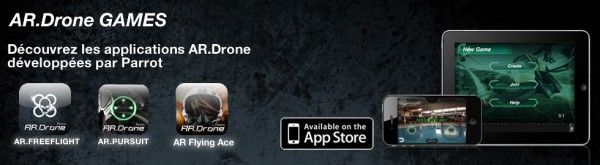 The Parrot AR.Drone