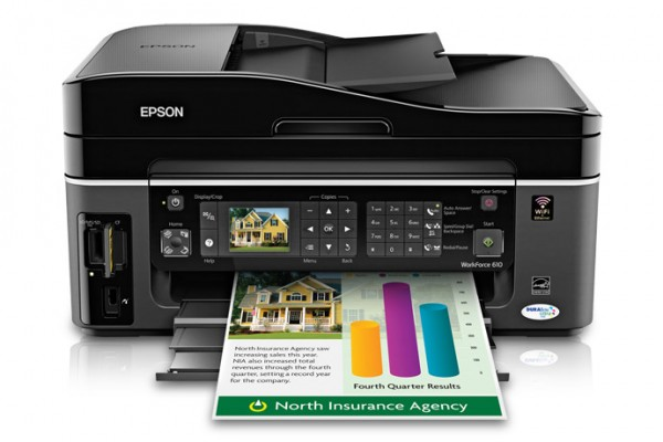 Workforce 610 by Epson is ideal for small office with AIO feature