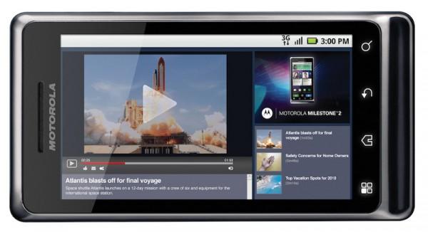 Motorola Milestone 2 Review