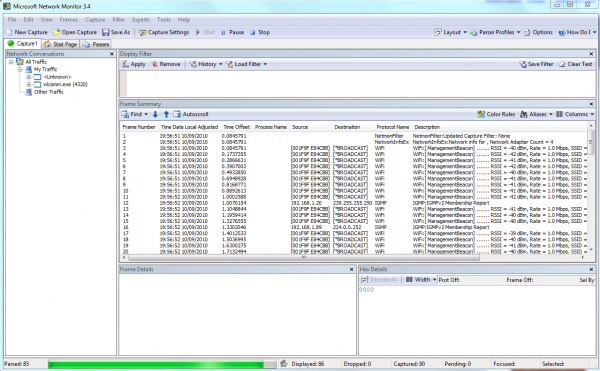 Network Monitor 3.4 Available for Download