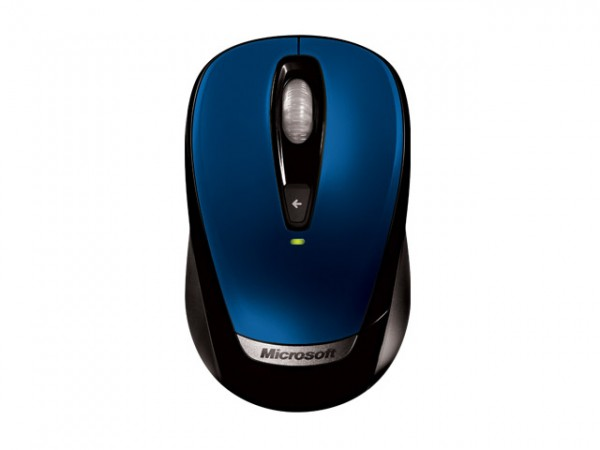 The New Blue Wireless Mouse by Microsoft