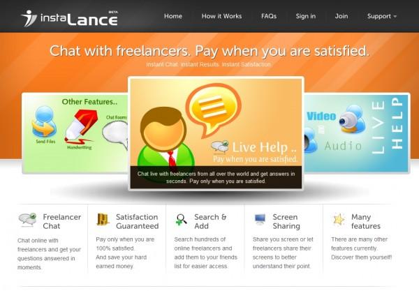 InstaLance - Freelancers Instant Help