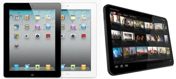 The iPad 2 and Xoom Comparison