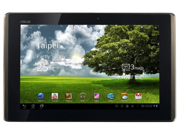 Asus Eee Pad Transformer operating system Review